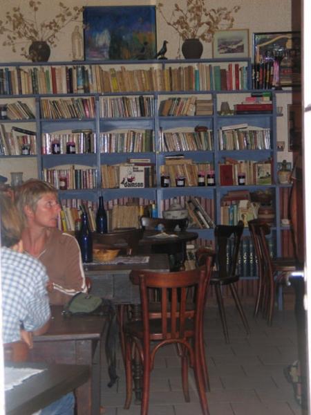 """Chambonas bar """"Le Pont"""" café littéraire ou restaurant pittoresque ?"""