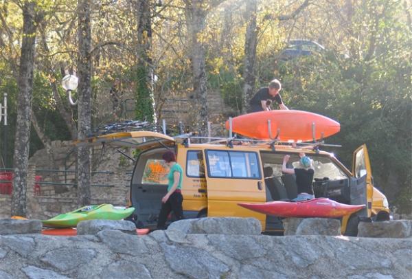 Canoë Kayak à Chaulet Plage